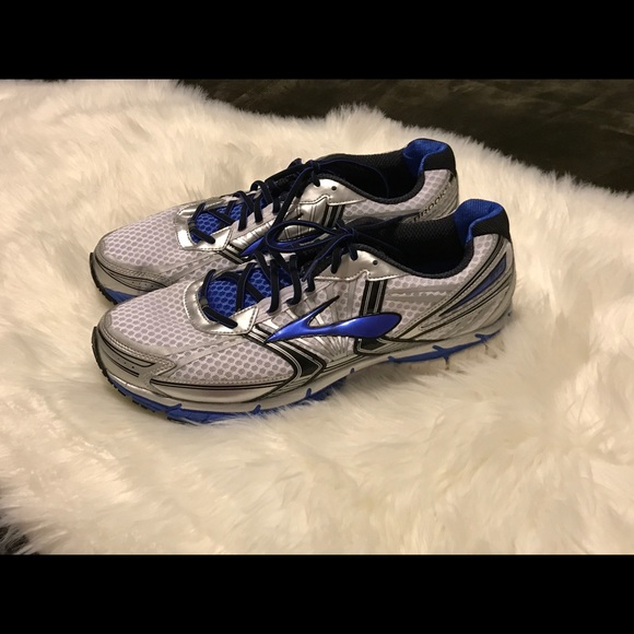 791838112fc38 Brooks Other - Brooks Adrenaline GTS 14 Blue Silver Men s Sz ...